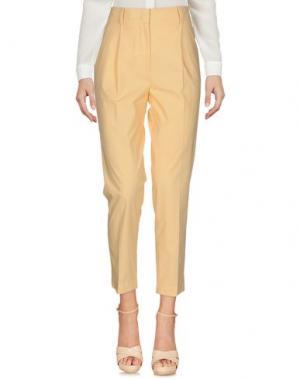 Повседневные брюки ARGONNE. Цвет: светло-желтый