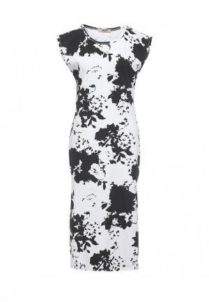 Платье Besh. Цвет: черно-белый