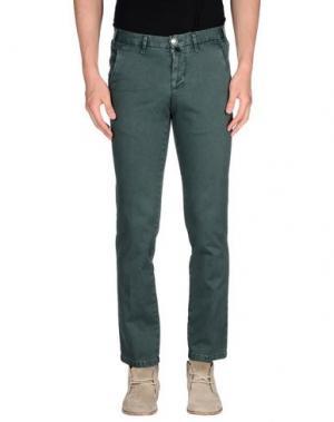 Повседневные брюки EREDI RIDELLI. Цвет: темно-зеленый