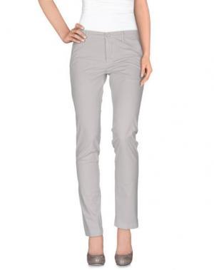 Повседневные брюки MANUEL RITZ. Цвет: светло-серый