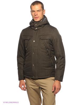 Куртка Salewa. Цвет: темно-коричневый