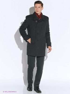 Пальто Sainy. Цвет: серый