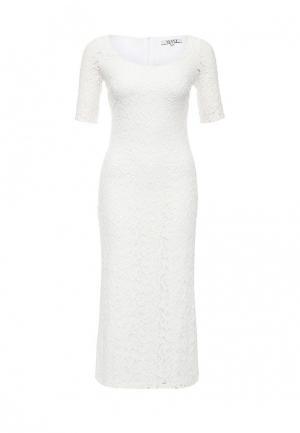 Платье MAST. Цвет: белый