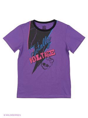 Футболка Monster High. Цвет: фиолетовый