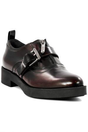 Low shoes NILA. Цвет: bordeaux