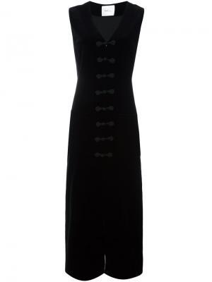 Платье Ursa Racil. Цвет: чёрный