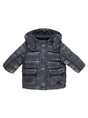 Куртка CHICCO. Цвет: серый, синий