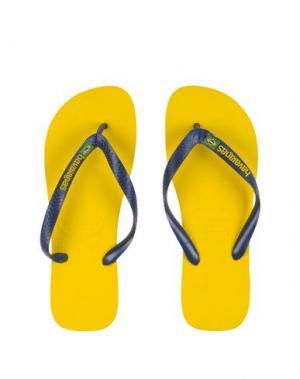 Вьетнамки HAVAIANAS. Цвет: желтый