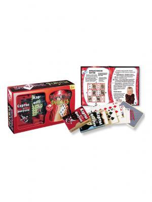Карточные фокусы Fun kits. Цвет: красный