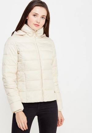 Куртка утепленная Rinascimento. Цвет: бежевый