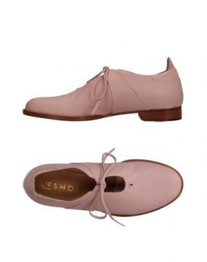 Обувь на шнурках L'F SHOES. Цвет: розовый