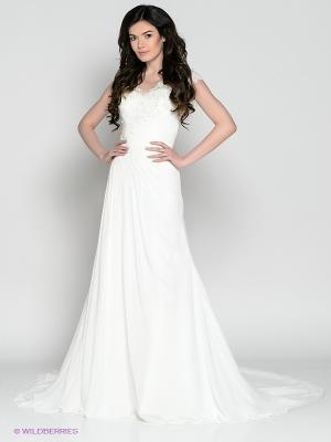 Свадебное платье X'Zotic. Цвет: белый