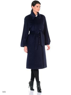 Пальто Lea Vinci. Цвет: темно-синий