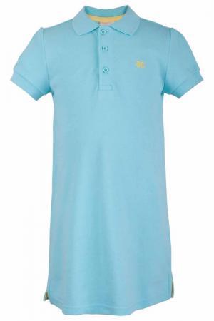 Платье Button Blue. Цвет: ментоловый