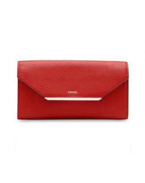 Бумажник LANCEL. Цвет: красный