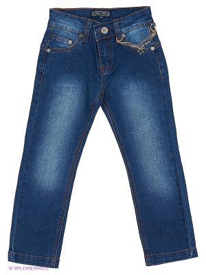 Брюки джинсовые Nota Bene. Цвет: синий