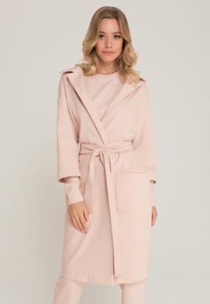 Пальто Lezzarine. Цвет: розовый