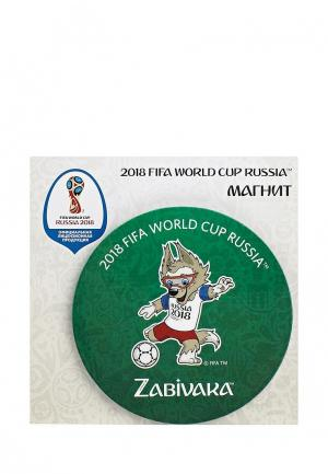 Магнит 2018 FIFA World Cup Russia™. Цвет: зеленый