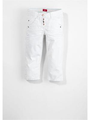 Капри S.OLIVER. Цвет: белый