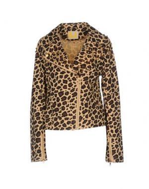 Куртка BEAYUKMUI. Цвет: бежевый