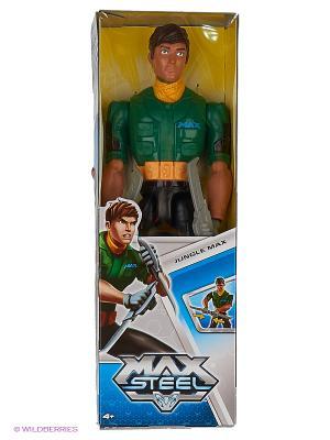 Фигурка с дополнительным оружием MAX STEEL. Цвет: зеленый, красный, синий
