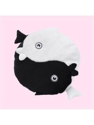 Мягкая игрушка Рыбки Фэн-Шуй Malvina. Цвет: черный, белый