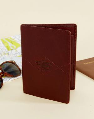 Gentlemen's Hardware Кожаный бумажник Gentlemens. Цвет: мульти