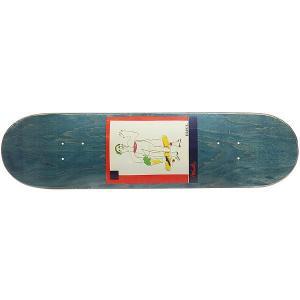 Дека для скейтборда  SSS №2 Blue 32 x 8.125 (20.6 см) Absurd. Цвет: синий,мультиколор