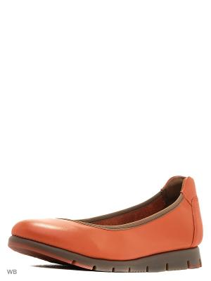 Балетки Mascotte. Цвет: оранжевый