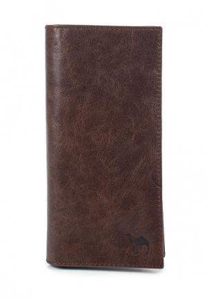 Кошелек Dimanche. Цвет: коричневый