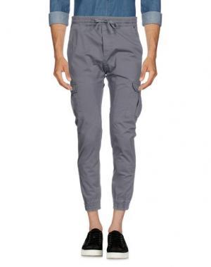 Повседневные брюки FIFTY FOUR. Цвет: серый