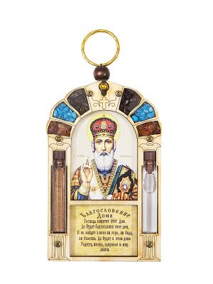 Благословение Дома Николая Чудотворца Holy Land Collections. Цвет: бежевый