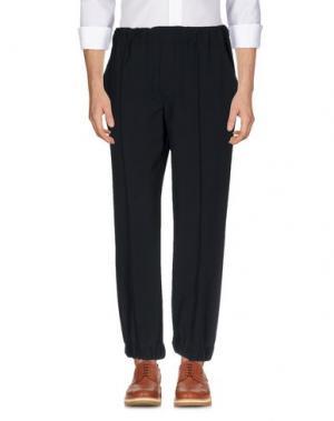 Повседневные брюки GAETANO NAVARRA. Цвет: темно-синий