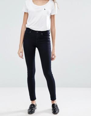 Jack Wills Супероблегающие джинсы с классической талией Fernham. Цвет: синий