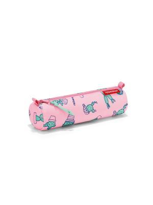 Пенал детский Pencilroll cactus pink Reisenthel. Цвет: розовый