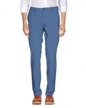 Повседневные брюки YAN SIMMON. Цвет: грифельно-синий