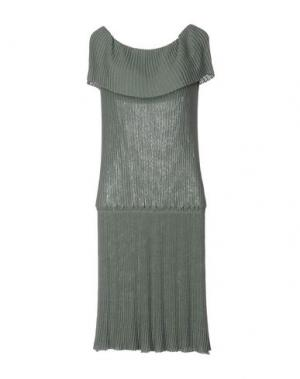 Платье до колена BP STUDIO. Цвет: зеленый