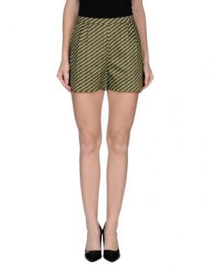 Повседневные шорты •MILANO PARIGI•. Цвет: светло-зеленый