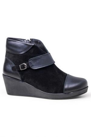 Ботинки Lagier. Цвет: черный