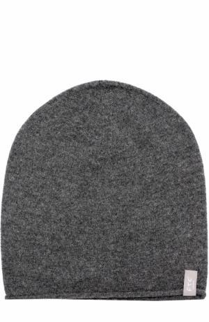 Кашемировая шапка бини FTC. Цвет: темно-серый