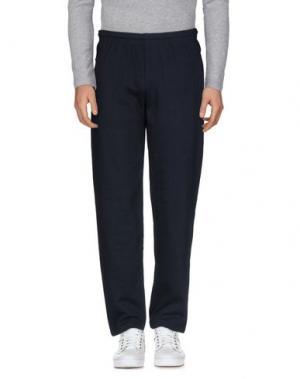 Повседневные брюки FRUIT OF THE LOOM. Цвет: темно-синий