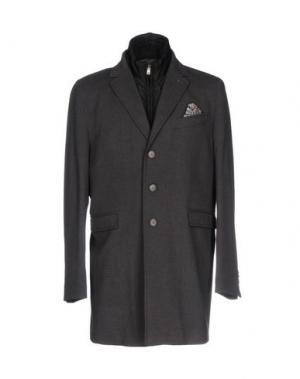 Пальто MAESTRAMI. Цвет: свинцово-серый