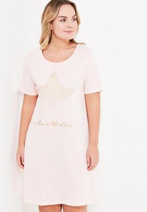Сорочка ночная Evans. Цвет: розовый