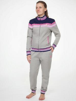 Пижама Renato Balestra. Цвет: серый, фуксия, белый, синий
