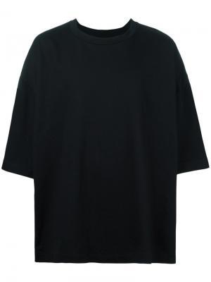 Свободная футболка Desert Études. Цвет: чёрный