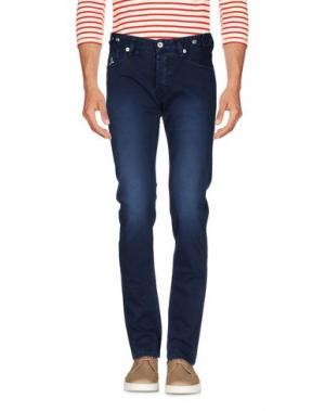 Джинсовые брюки JFOUR. Цвет: темно-синий