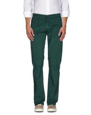 Повседневные брюки RE-HASH. Цвет: зеленый