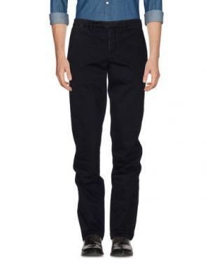 Повседневные брюки PIATTO. Цвет: стальной серый