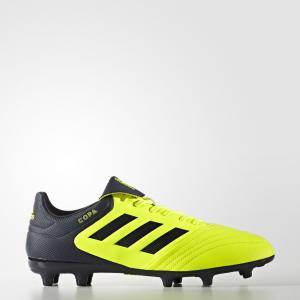 Футбольные бутсы Copa 17.3 FG  Performance adidas. Цвет: желтый