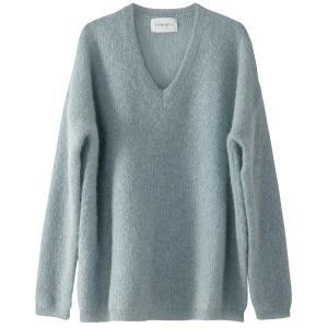 Пуловер из тонкого трикотажа с V-образным вырезом SUD EXPRESS. Цвет: миндаль